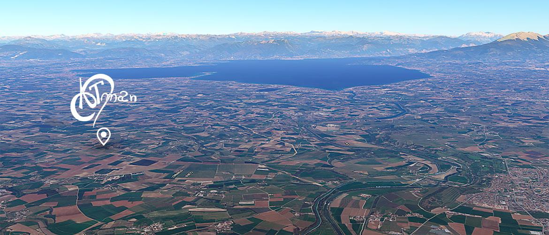 Atman mappa lago di Garda