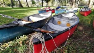 Gite in canoa